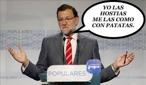 Mariano Rajoy punch